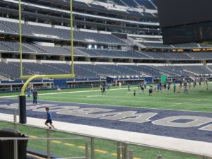 Dallas Cowboys Suites - Touchdown Level