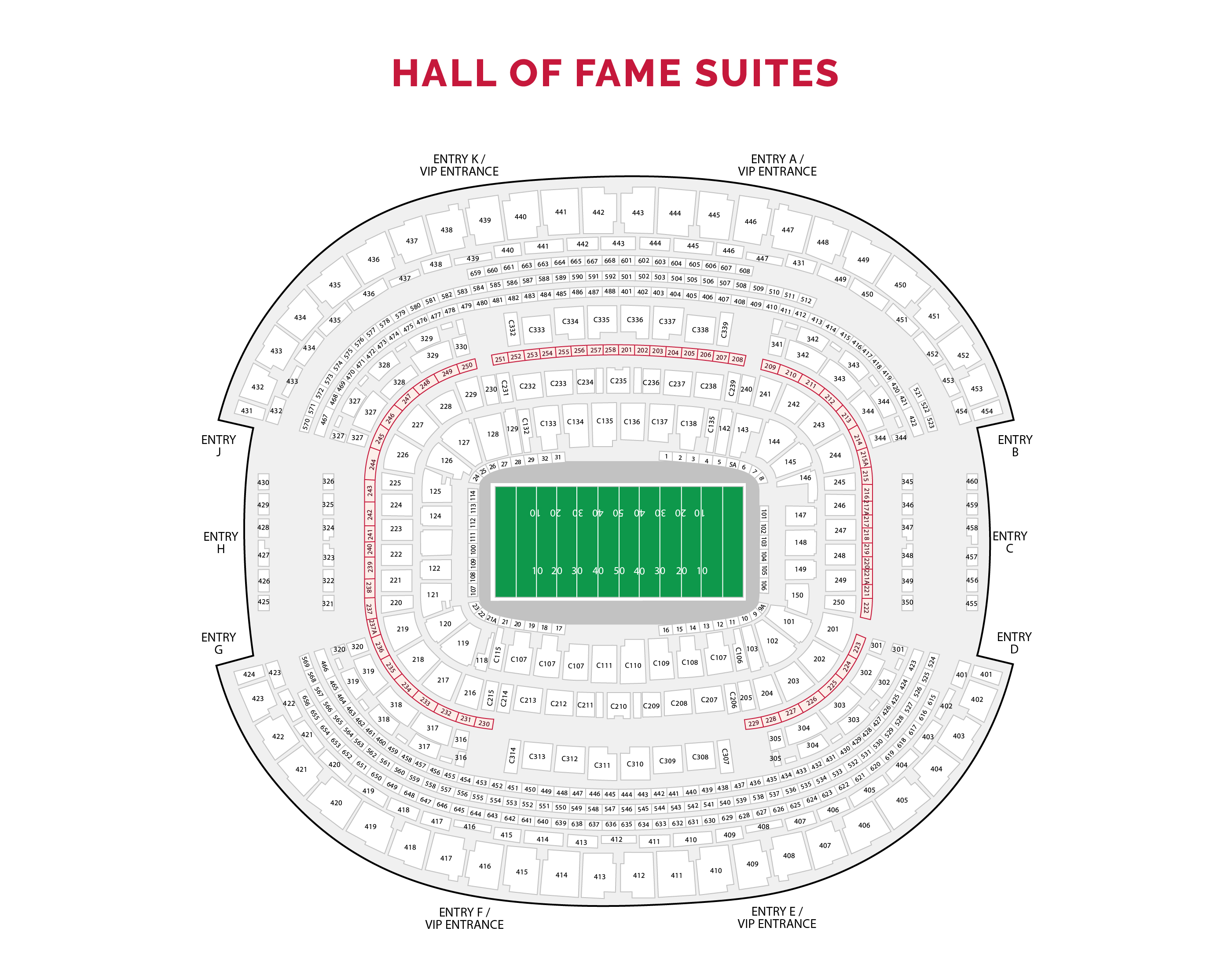 Hall of Fame Suites