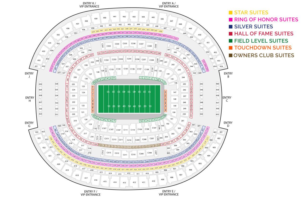 AT&T Stadium Suites