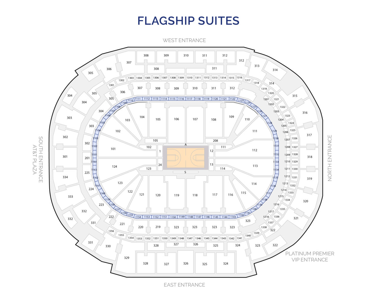 Dallas Mavericks Suites - Flagship Luxury Suites