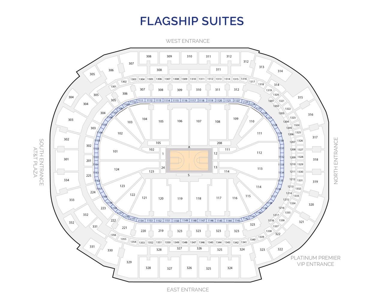 Dallas Mavericks Suites - Flagship Luxury Suites