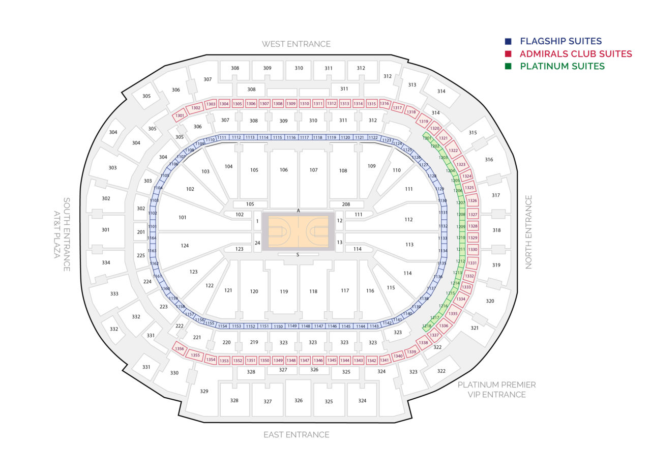 American Airlines Center Concert Suites And Luxury Boxes